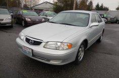 Mazda 626 2000 silver for sale