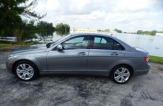 A clean 2009 Tokumbo Mercedes Benz c 320 Grey for sale