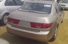 Foreign used Honda accord 2005 gold