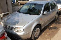 2004 Volkswagen Golf4 silver for sale