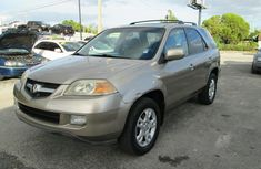 Clean Acura MDX gold color 2006 for sale