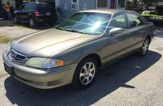 Clean mazda 626 2003 gold for sale
