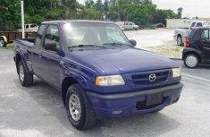 Clean Mazda truck 2002 model blue for sale
