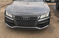 Neat tokunbo Audi A7 2012 model Grey for sale