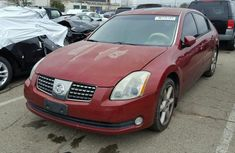 Newly imported nissan maxima 2006 model Red for sale