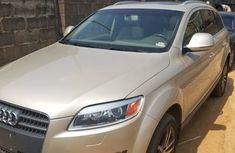 2007 Audi Q7 gold for sale
