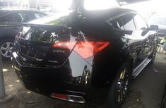: Acura ZDX 2011 black for sale