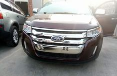 Ford Edge 2010 red in good condition for sale