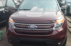 Ford Explorer 2012 Red for sale