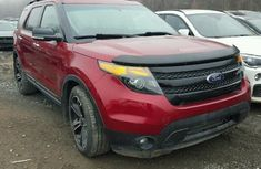 2014 FORD EXPLORER SPORT RED FOR SALE