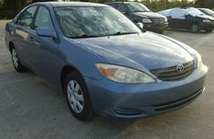 2002 Toyota Camry blue for sale