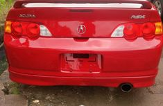 Tokunbo Acura RSX 2002 Model Red for sale