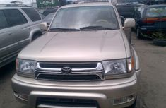 Foreign used Toyota 4runner 2002 gold