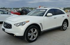 Neat infiniti fx35 2014 white for sale