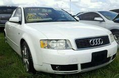 TOKUNBO AUDI A4 2006 WHITE FOR SALE