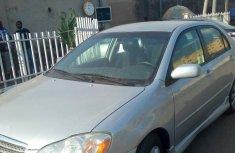 2004 Silver bird sharp Toyota Corolla sport for sale