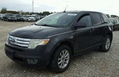 CLEAN AND NEAT AUCTION FORD EDGE 2005 BLACK FOR #800,000
