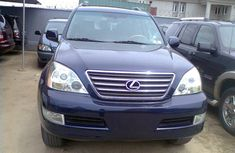 Foreign used Lexus GX470 2009 Blue for sale