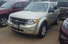 Neat ford escape 2012 Gold for sale