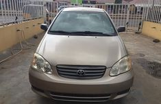 Foreign used Toyota corolla 2005