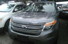 Ford Explorer 2012 Petrol Automatic Grey/Silver