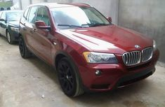 Clean red BMW x3 2012 for sale