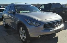 Neat infiniti fx35 2009 white for sale