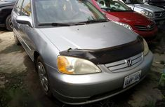 Tokunbo Honda Civic 2002 Silver for sale