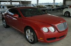 BENTLEY CONTINENTAL 2008 Red for sale