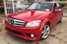 Tokumbo lmercedes bens c300 2010 model on Red for sale