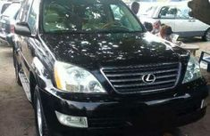 Foreign used Lexus GX470 2007 black for sale