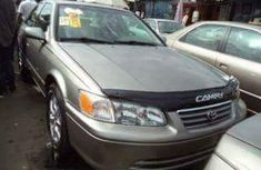 Foreign used Toyota Camry 2001 gold for sale