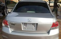 Foreign used Honda accord 2010 silver for sale