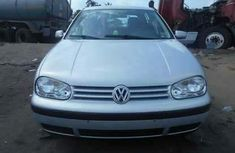 Foreign used Volkswagen golf4 2002 silver for sale