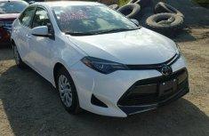Toyota Corolla 2017 white for sale