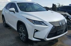 Lexus rx350 2017 white for sale