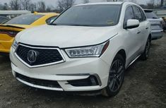 Acura MDX 2017 white for sale