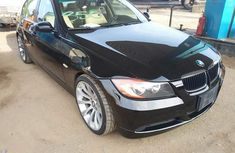 Foreign Used 2007 BMW 323i Black for sale