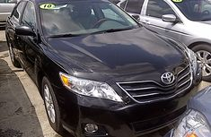 Clean Toyota Camry XLE 2010 Black for sale
