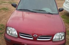 Nissan Micra 2002 Red for sale