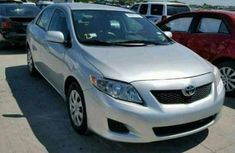 TOYOTA COROLLA DIRECT TOKUNBO 2010 SILVER FOR SALE