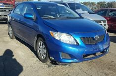 Toyota Corolla 2010 Blue For urgent sales