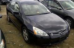 Clean Tokunbo 2008 Honda Accord Eod With Navigation System