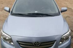 Clean Toyota Corolla 2010 Bought Blue for sale