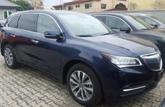 Clean Acura MDX 2008 blue for sale
