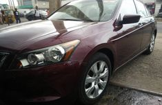 Clean Toks 2010 Honda Accord Red for sale