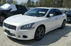 Nissan maxima 2013 White for sale
