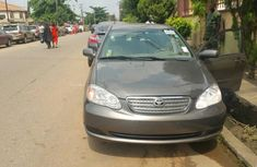 Extremely Clean Tokunbo 2006 Toyota Corolla Grey for sale
