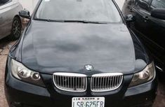 2012 BMW 3 SERIES black for sale