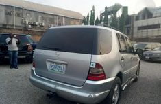 Mercedes-Benz ML 320 2003 Silver for sale